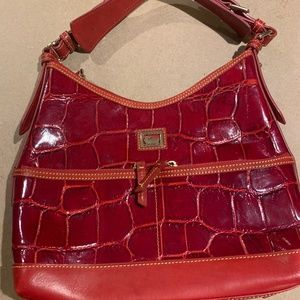 Dooney & Bourke Crocodile Red Bag